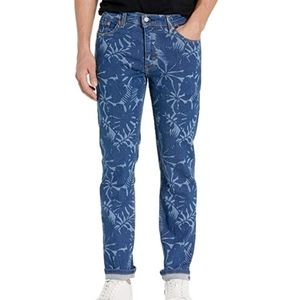 LEVI'S Men 511 Slim Floral Denim Flex Stretch Jean